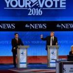 Republican presidential candidates participated in the debate.