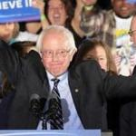 Bernie Sanders says victory in New Hampshire is start of a revolution. By Scott LaPierre