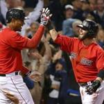 Xander Bogaerts and Dustin Pedroia will be infield staples for the Red Sox this year.