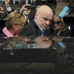 Former Anglo Irish Bank chief executive, David Drumm, left court after being granted bail in Dublin on March 15.