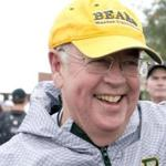 "FILE -- Kenneth Starr, the president and chancellor of Baylor University, before football game in Waco, Texas, Oct. 11, 2014. Starr, the former Whitewater independent counsel whose dogged pursuit of President Bill Clinton in the 1990s lead to the impeachment of a president for only the second time in U.S. history, has recently spoke in praise of Clinton, particularly his ""redemptive"" years of philanthropy since leaving office. (Cooper Neill/The New York Times)"