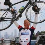 David Hirsch rode about 2,300 miles for Dads Honor Ride.