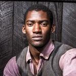 "Malachi Kirby as Kunta Kinte in the remake of the miniseries ""Roots."""