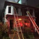 The blaze at 43 Iroquois St. caused about $500,000 in damage, according to Boston Fire District Chief Kevin Brooks.
