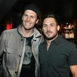 6-13-2016 Boston, Mass 300 guests attended 3rd Annual Celebrity Waiter Night held the Towne Resaurant with New England Patriots Tom Brady and Danny Amendola. Globe photo by Bill Brett