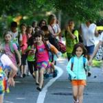 In Salem, the Carlton Innovation School holds a weekly trek to school called Walking Wednesday.