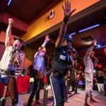 The Village People performing at Kowloon Resturant in Saugus earlier this month.
