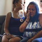 Luz Sanchez (right) is the mother of Grisel Sanchez, a 31-year-old mother of three who was gunned down one year ago.
