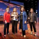 From left: Barrington Stage's Julianne Boyd, Shakespeare & Company's Ariel Bock, Berkshire Theatre Group's Kate Maguire, and Williamstown Theatre Festival's Mandy Greenfield.