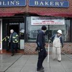 Ohlin's Bakery in Belmont has been closed since an oven explosion March 15.