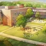 Drawings of the new Sandy Hook Elementary School, set to open in August. (Svigals + Partners)