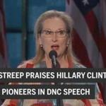 Watch Meryl Streep's full speech at the 2016 Democratic National Convention