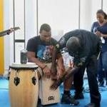 """Code Listen"" involves collaborative music making between cops and at-risk youth, in direct response to the current climate of heightened mistrust between the police and certain minority populations."