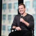 Matt Damon attended an even to discuss