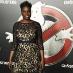 "Leslie Jones at a ""Ghostbusters"" event."
