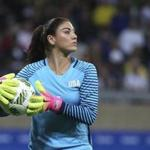 Hope Solo was suspended for six months for disparaging comments about Sweden following the Americans' early departure from the Rio Olympics.