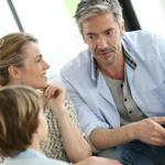 Parents having a talk with teenage boy; Shutterstock ID 267540992; PO: living 8/1