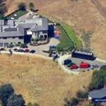 The home of singer Chris Brown in the Tarzana area of Los Angeles.