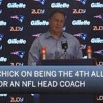 Bill Belichick on being the 4th all-time in wins for an NFL head coach