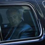 Israeli Prime Minister Benjamin Netanyahu left Trump Tower on Sunday after meeting with Republican Donald Trump.