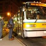 The MBTA eliminated late-night rail and bus service earlier this year.