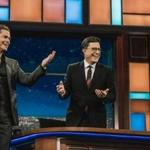 "Stephen Colbert is joined by Rob Lowe on a live episode of ""The Late Show"" after the first presidential debate."
