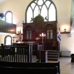 Historic Etz Chaim Synagogue built in the 1920's.