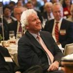 General Electric CEO Jeff Immelt at the Boston College CEO Club earlier this month.