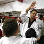 Ricardo Rosa's community involvement in New Bedford includes teaching Taekwondo at the local Boys and Girls Club.