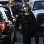 Revere police on Monday released a recording of the 911 call that led to a lengthy standoff Sunday between residents inside a home on Francis Street and a SWAT team.