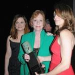From left: Amy Poehler, Carol Burnett, and Tina Fey at the the Screen Actors Guild Awards in January.