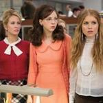 "From left: Anna Camp, Erin Darke, and Genevieve Angelson in ""Good Girls Revolt."""