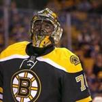 Boston, MA - 09/22/15 - (1st period) Boston Bruins goalie Malcolm Subban (70). The Boston Bruins take on the Washington Capitals in a pre-season exhibition game at TD Garden. - (Barry Chin/Globe Staff), Section: Sports, Reporter: Fluto Shinzawa, Topic: 23Bruins-Capitals, LOID: 8.1.3610730274.