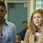 "Issa Rae (left) and Lisa Joyce in ""Insecure."""