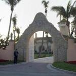 The entrance of Mar-a-Lago in West Palm Beach, Fla., as seen in January 2005.
