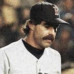 A dejected Bill Buckner walked off the field at the end of Game 6.