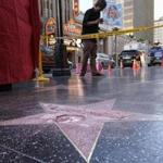 Donald Trump's Hollywood Walk of Fame star was vandalized overnight.