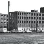 The abandoned Indian Motorcycle factory in Springfield in 1986