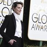 Evan Rachel Wood smoldered in a fitted tux.