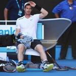 Top seed Andy Murray was upset in fourth round play at the Australian Open.