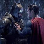 "Ben Affleck (left) and Henry Cavill in a scene from ""Batman v Superman: Dawn of Justice."""