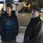"Pete Holmes (left) and Artie Lange in ""Crashing."""