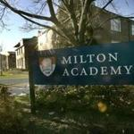 Four former employees of Milton Academy engaged in sexual misconduct with students decades ago, school officials disclosed Tuesday.