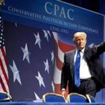 REFILE - CORRECTING YEAR Donald Trump waves during the 38th annual Conservative Political Action Conference (CPAC) in Washington February 10, 2011. The CPAC is a project of the American Conservative Union Foundation. REUTERS/Joshua Roberts (UNITED STATES - Tags: POLITICS BUSINESS) Library Tag 02112011