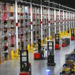 A look inside the million-square foot Amazon distribution warehouse that opened last fall.