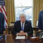 President Trump spoke from the Oval Office Friday after the health care bill was withdrawn.
