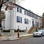 The house where Ivanka Trump and her family live in Washington, DC.