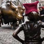 "Images of the ""Fearless Girl"" statue have gone viral."
