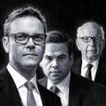 James Murdoch, 44, (left) and his brother Lachlan, 45, are determined to rid the company of its roguish, old-guard internal culture tolerated by father Rupert, 86.