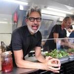 Jeff Goldblum in a food truck.